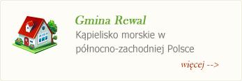 gmina rewal - kąpielisko morskie w północno-zachodniej Polsce